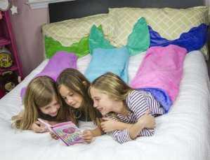 Soft Flannel Mermaid Tail Blanket