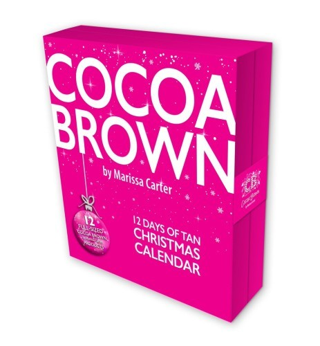 advent calendar cocoa brown