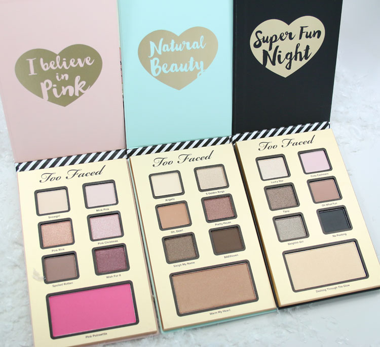 Too Faced Best Year Ever palettes