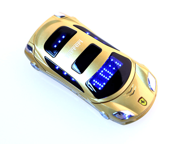 Gold-Ferrari-flip-phone