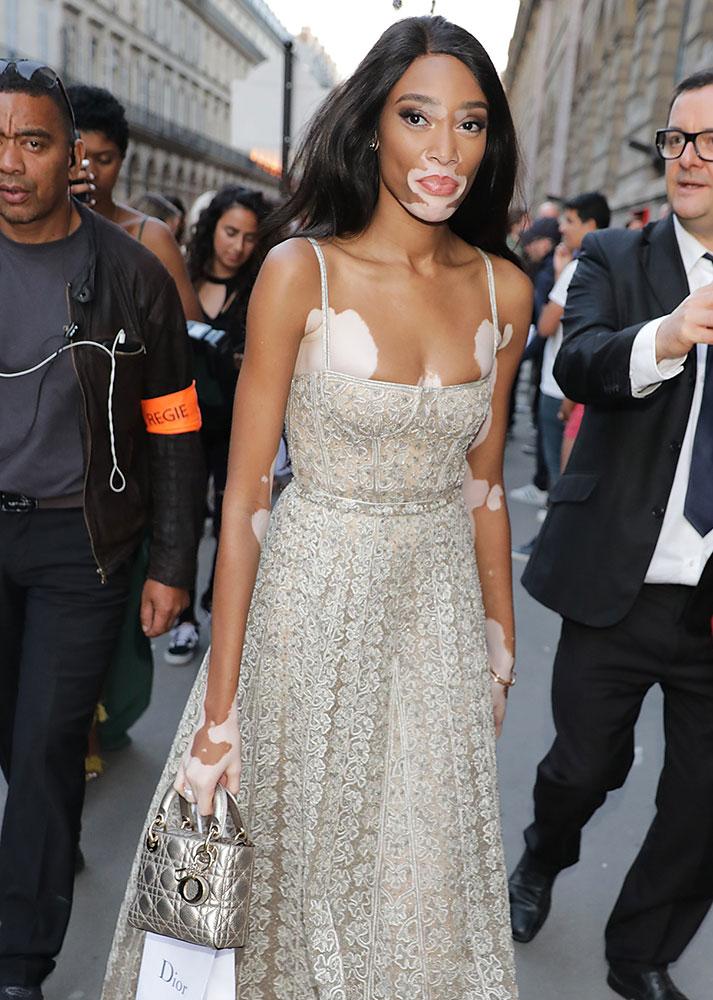 Winnie-Harlow-Dior-Lady-Dior-Bag
