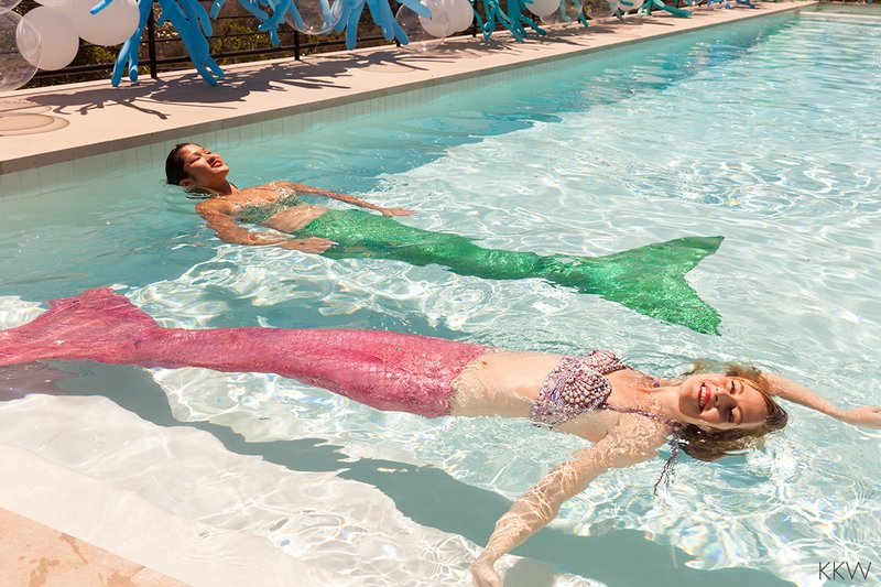 kardashian-mermaid-party