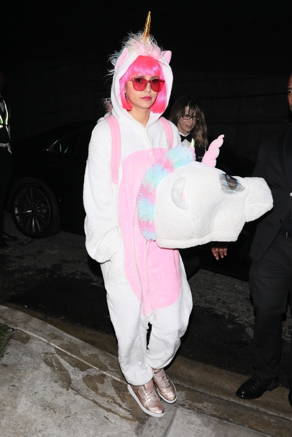 Nina-Dobrev-Unicorn-Halloween